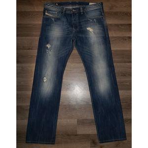 Distressed Diesel Jeans 31x34
